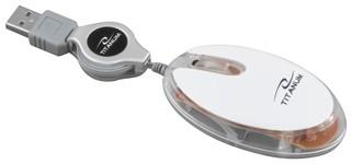 Titanium Mouse<br>TM112W Elver
