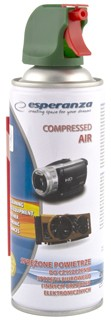 Compressed Air<br> Spray 400ml<br>Esperanza ES120