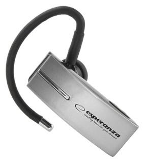Bluetooth Headset<br> EH134S Esperanza<br>Flores Silver