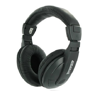 AV Stereo<br> Headphones 4World<br>large 3m