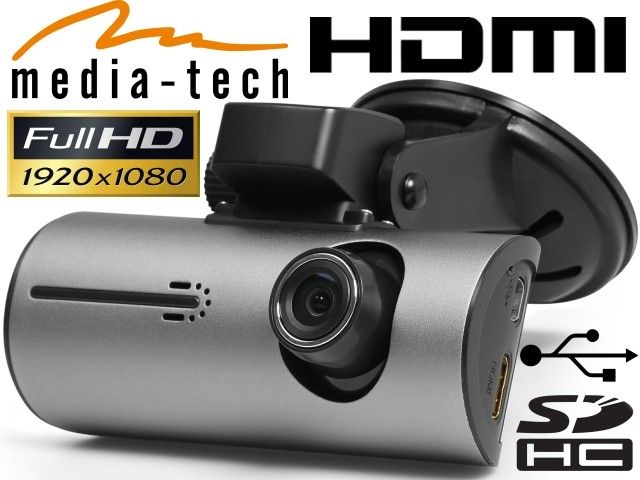 Car Camcorder<br> Media-Tech MT4043<br>EYE DRIVE