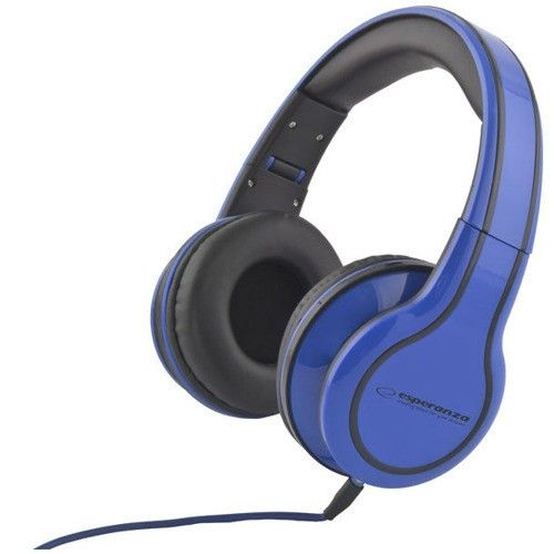 Headphones Esperanza EH136B blue