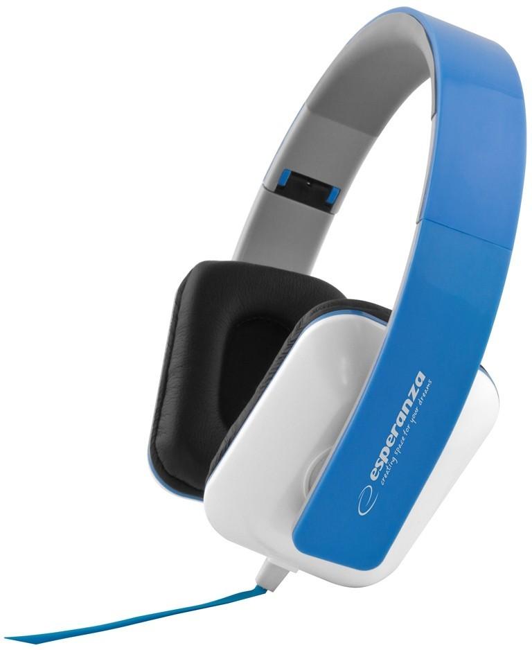 Headphones<br> Esperanza EH137B<br>blue
