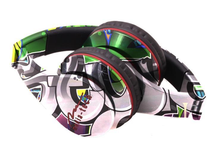 Headphones<br> Media-Tech MT3558<br>Grafitti