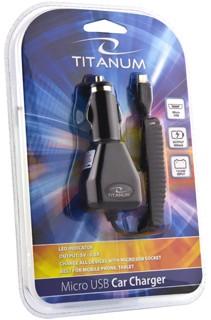 Univ. Car Charger<br> Titanum TZ102<br>1xmicroU