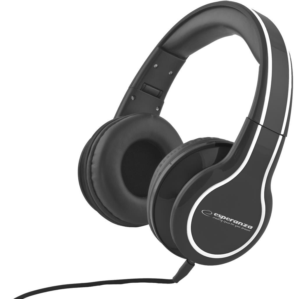 Esperanza EH136K<br>Headphones Black