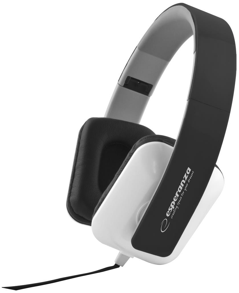Esperanza EH137K<br>Headphones Black