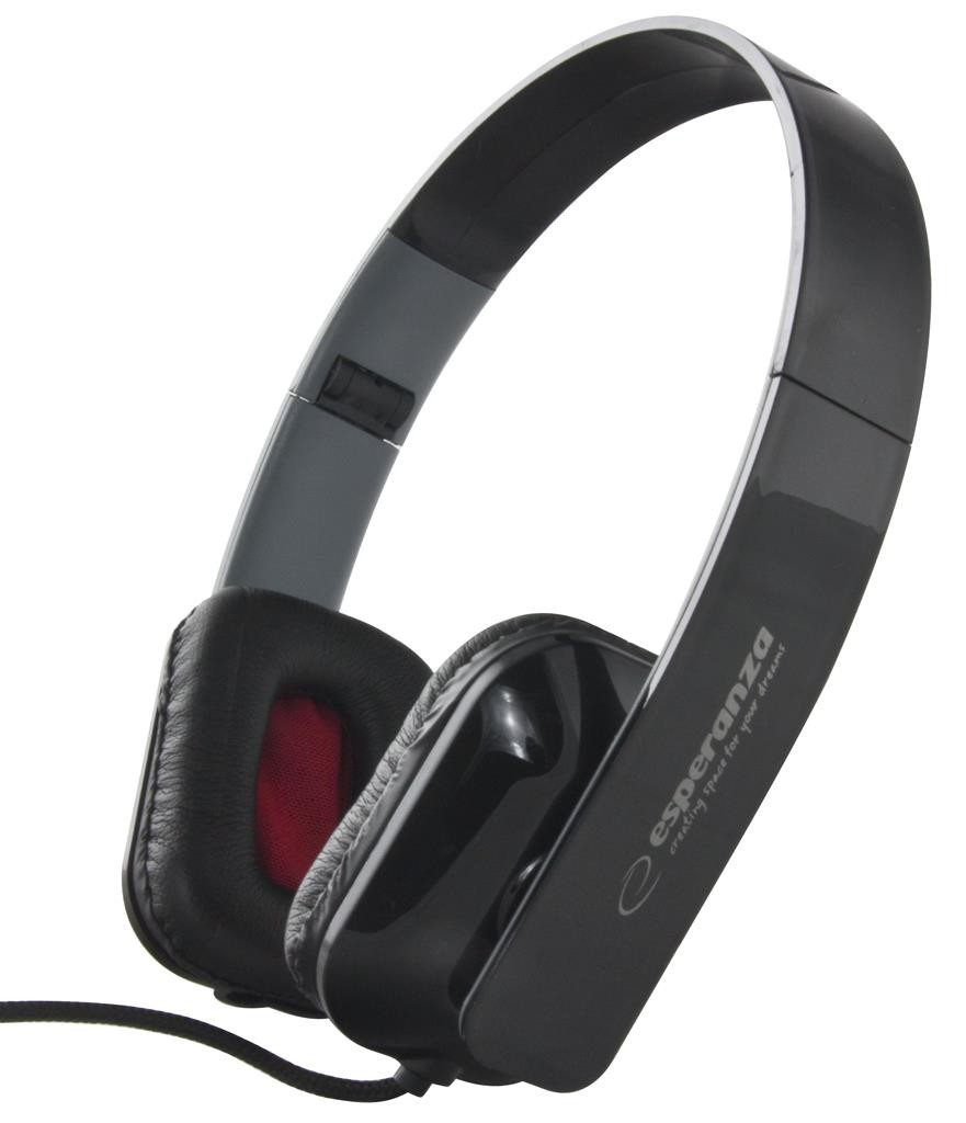 Esperanza EH143K<br>Headphones Black