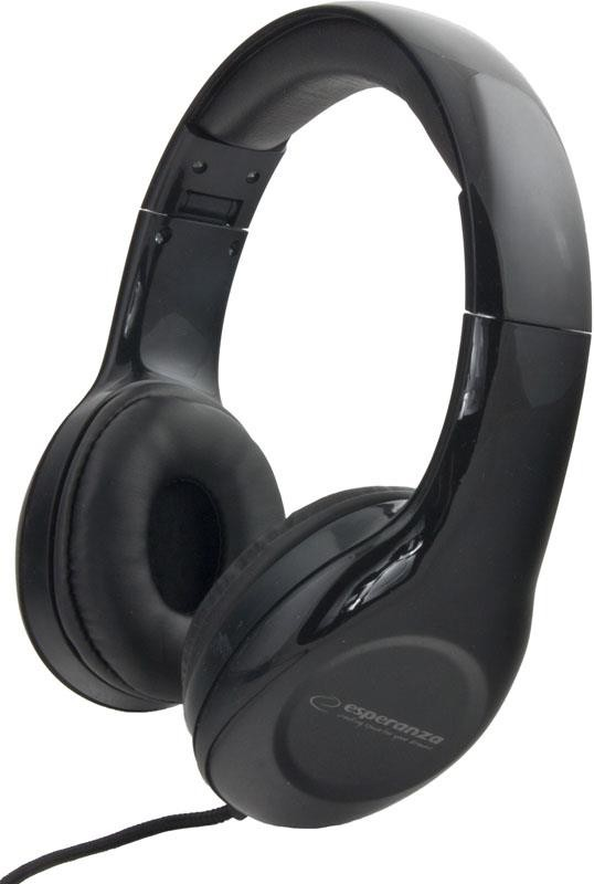 Esperanza EH138K<br> Soul Headphones<br>Black