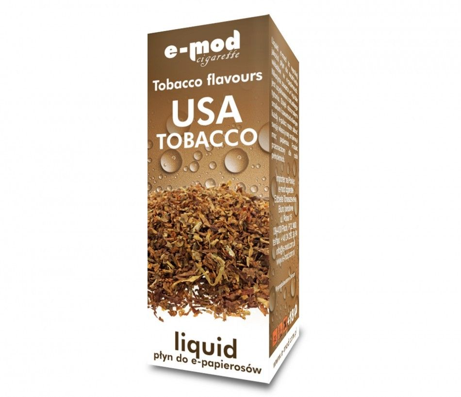Liquid USA TOBACCO<br>weak 8mg 10ml