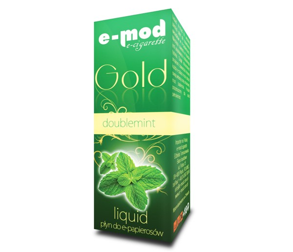 Liquid GOLD DOUBLE<br> MINT average 14mg<br>10ml