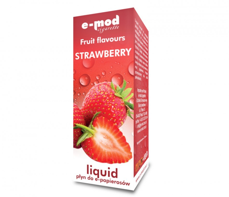 Liquid STRAWBERRY<br>weak 8mg 10ml