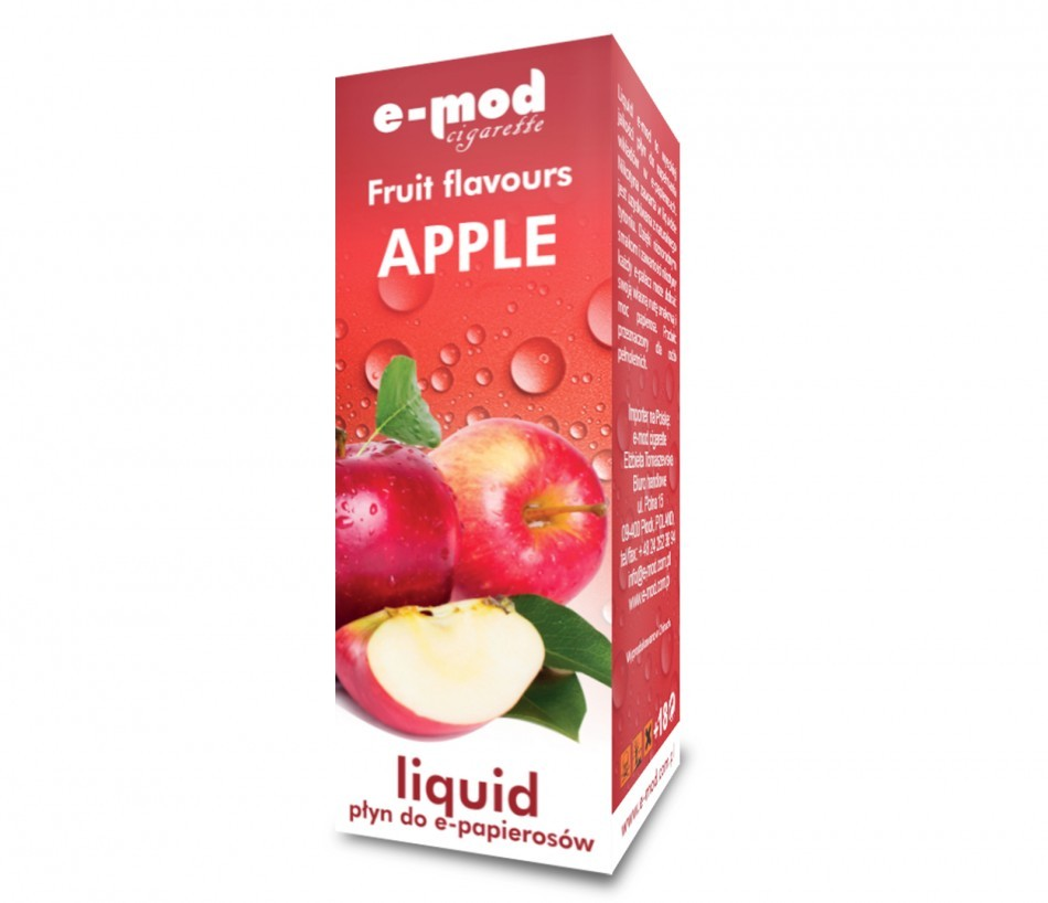 Liquid APPLE weak 8mg 10ml