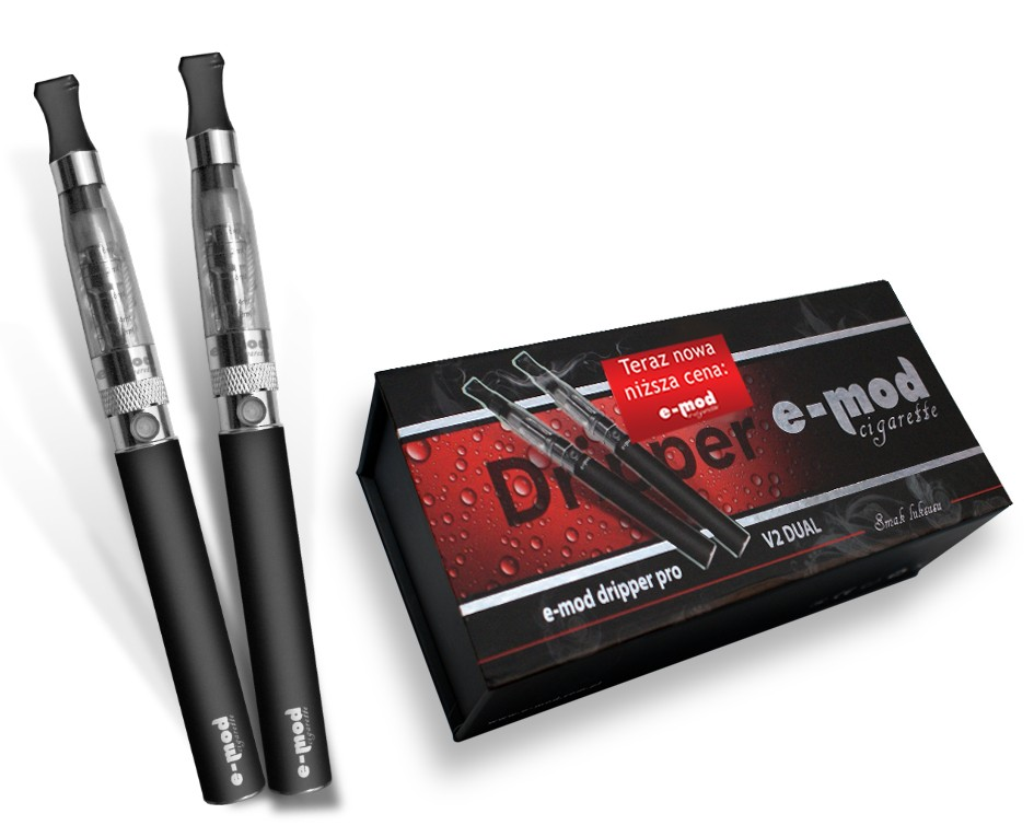 The E-MOD dripper<br> PRO V2 DUAL<br>(e-cigarette + n