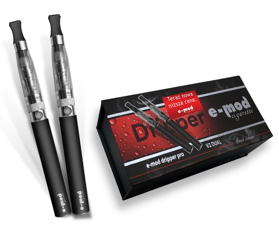 The E-MOD dripper PRO V2 DUAL (e-cigarette + n