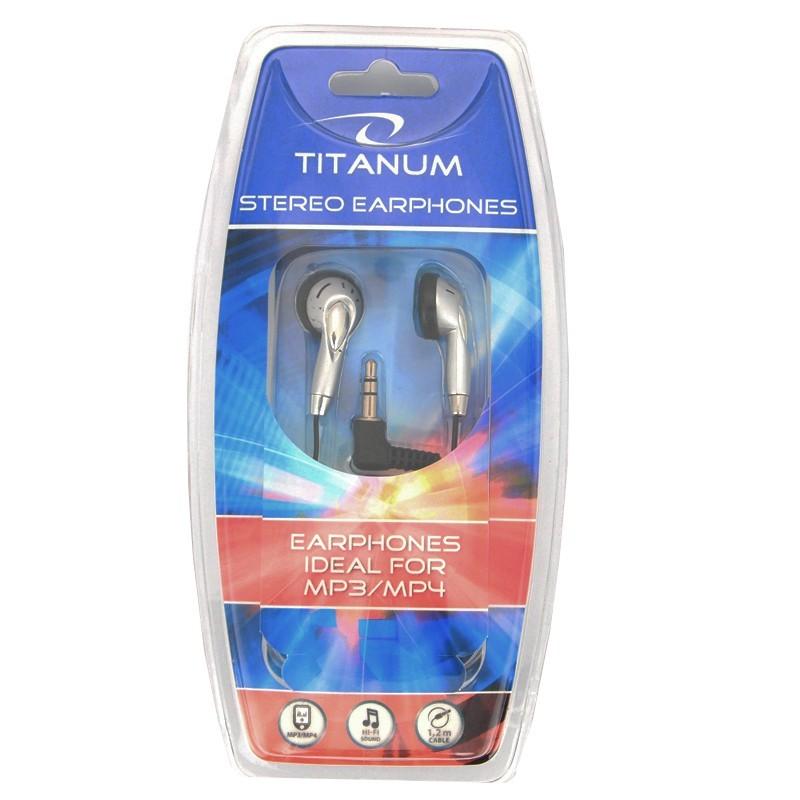 MP3 Headphones<br>Titanium TH101