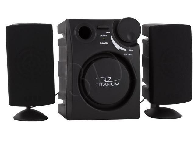 Speakers Titanium<br>TP-101 2.1